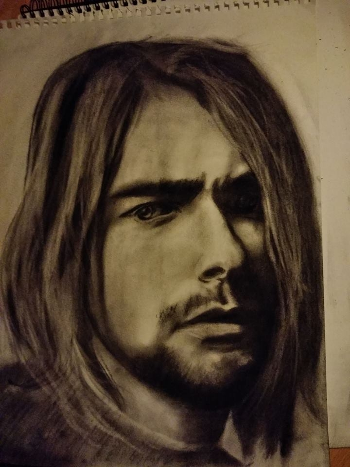 Kurt Cobain by KituC